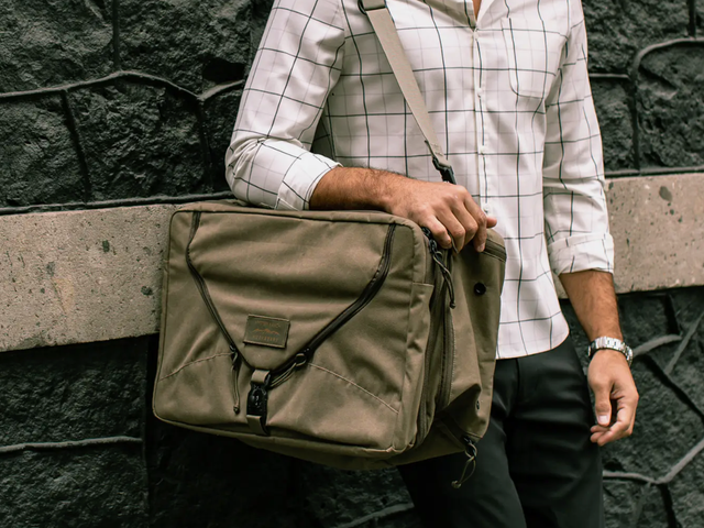 Pack Your Bag and Look Good Doing It: Huckberry's Brand-New Mystery Ranch Shoulder Bag Is 20% Off