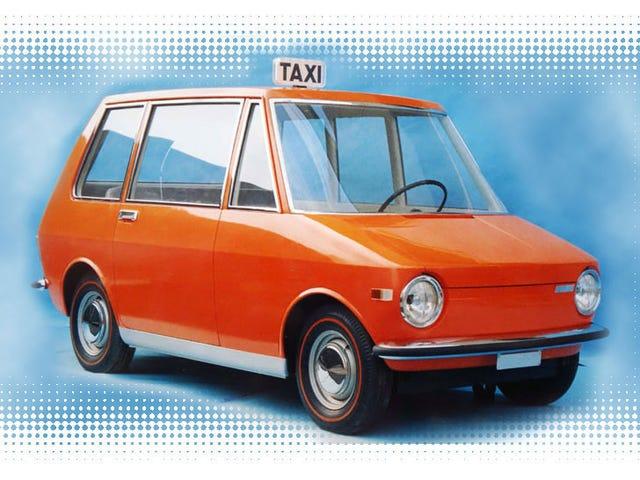 Nguyên mẫu taxi Fiat này là tài xế hàng ngày trong giấc mơ của tôi