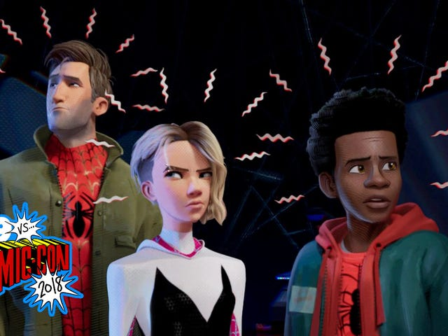The Spider-Man: Into the Spider-Verse Comic-Con Footage Was Absolutely Amazing