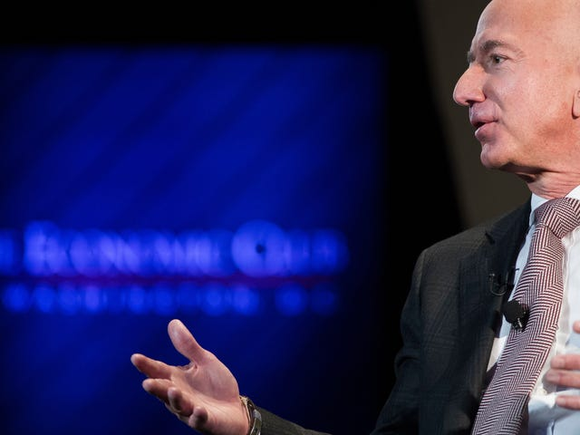 Bezos Coughs Up $97.5 Million for Charity