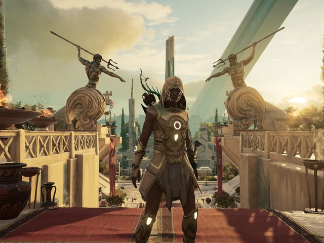 Assassin's Creed Odyssey's Final Paid Expansion Is Terrific If You Like The Weird Stuff