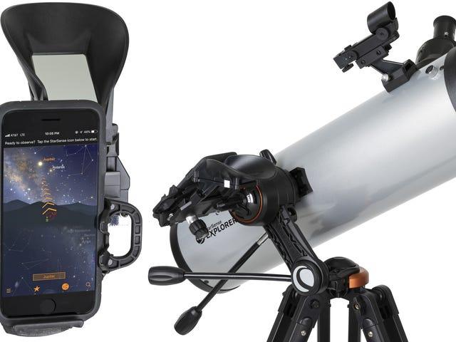 Rozpoznawanie twarzy gwiazd pozwala teleskopowi automatycznie znajdować obiekty na nocnym niebie