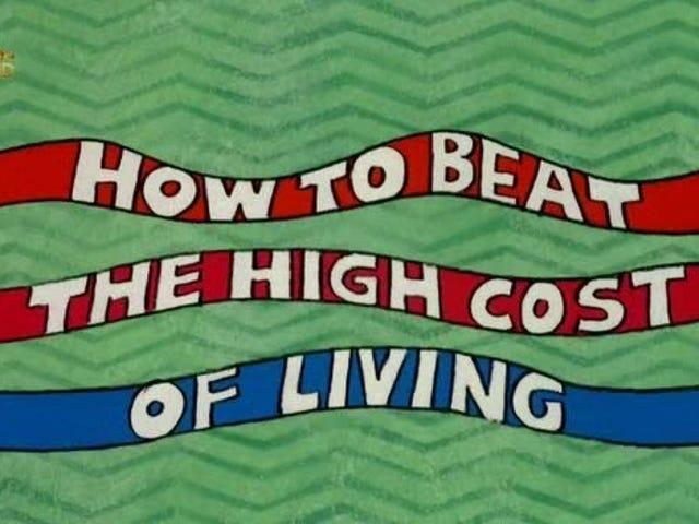 Wie man die hohen Lebenshaltungskosten überwindet (1980)