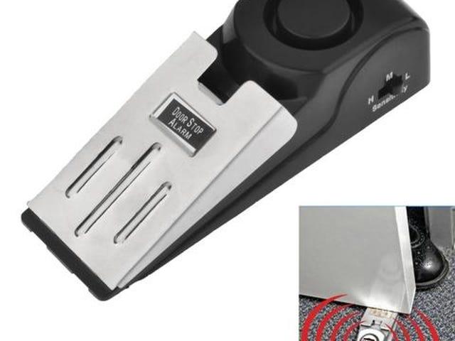 새로운 120dB 도어 스톱 경보 시스템 주택 보안 쐐기 모양의 스토퍼