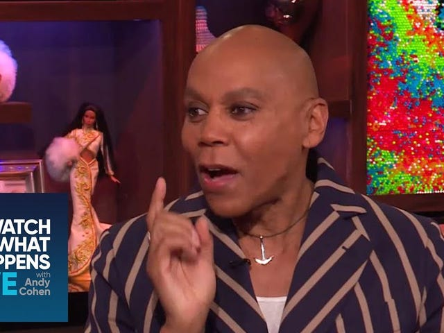 RuPaul Says Donning Drag at the Met Gala Would Have Made Him Mean
