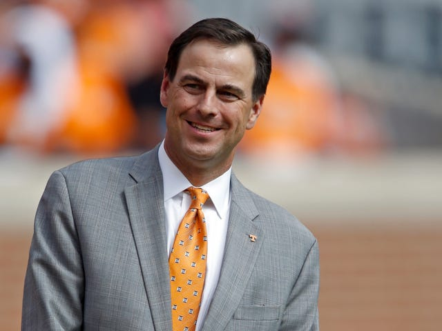 "Former Tennessee AD John Currie Called Fans ""Wacko,"" Asked Reporter To Help Support Greg Schiano Hire"