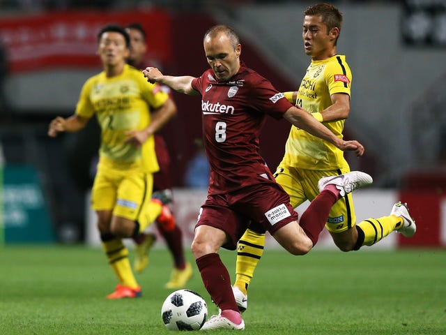 Andrés Iniesta Has Moved To Japan And Become A Golazo-Scoring Fiend