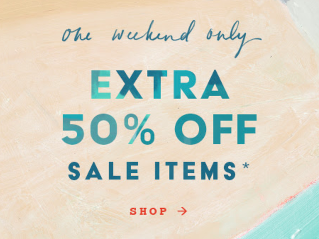 Anthropologie's Extra 50% Off Weekend Sale Starts Now