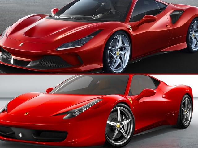 Vous pouvez retrouver la plus récente voiture de Ferrari Retour à 2009