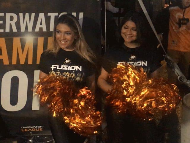 Mijn eerste nacht als Philadelphia Fusion-fan