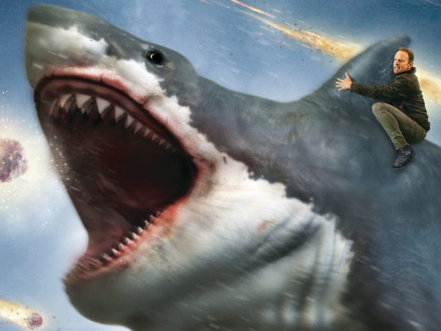The Last Sharknado is the last flopping gasp of a series well past its sell-by date