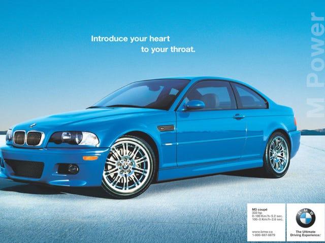 Message d'intérêt public: Achetez maintenant un E36 ou un E46 M3.