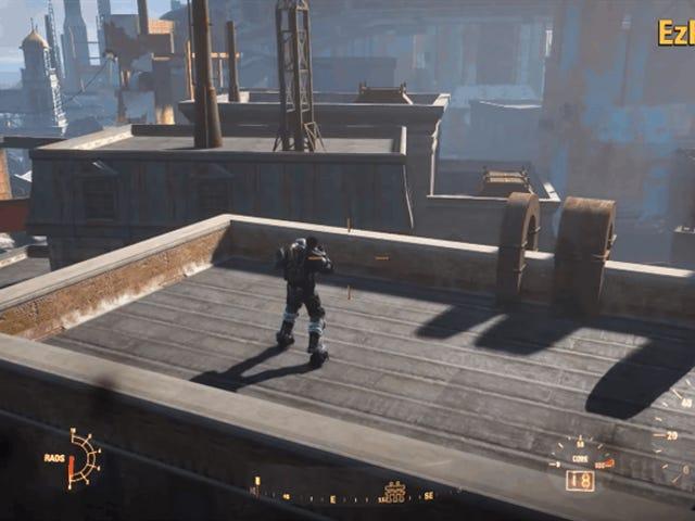 <i>Fallout 4</i> Rocket Jump Mod ressemble à un souffle