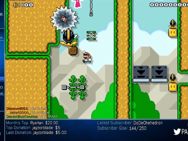 <i>Mario Maker</i>玩家创造了一个如此肮脏的水平,他最终结束了自己