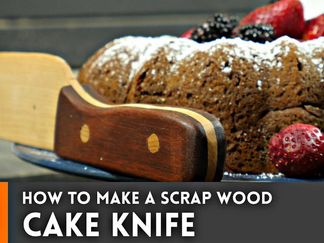 Make Your Own Cake Knife With Scrap Wood