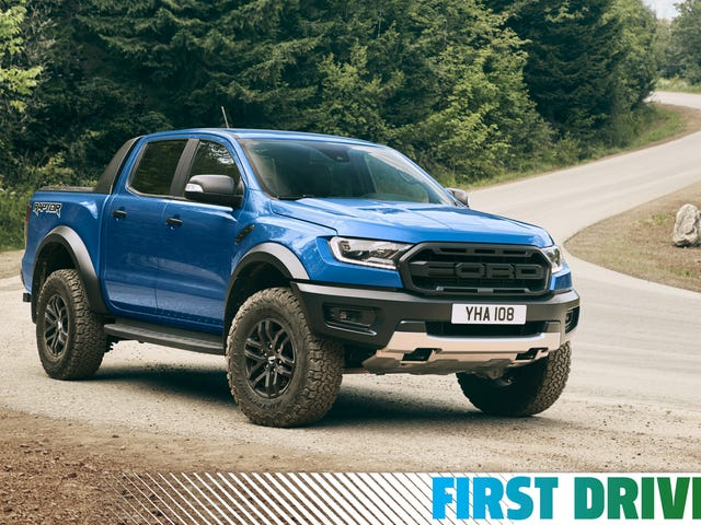 The 2019 Ford Ranger Raptor Is a Hilarious Monster on Tight Roads
