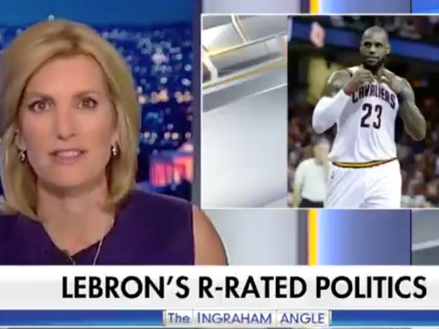 Fox News Gospodarz Laura Ingraham Blows The Dog Whistle On LeBron James [Aktualizacja]