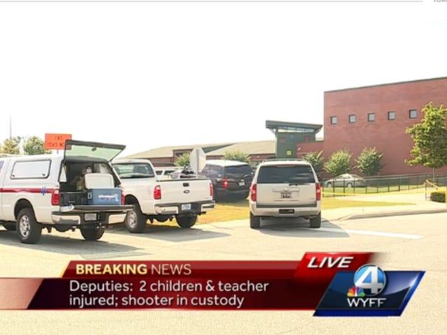 To børn rapporteret skadet ved grundskolen skydning i South Carolina