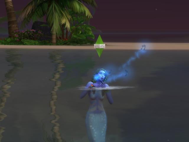 Русалки в The Sims 4 - рывки