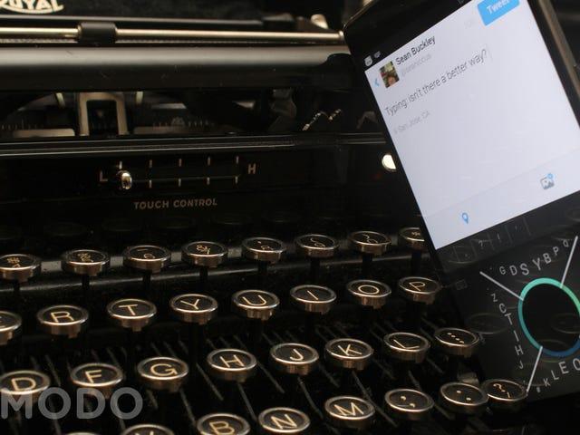 12款试图重塑移动打字的智能手机键盘