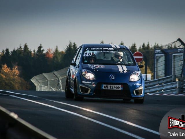 Slow oppo? Have some sportscar bashing in a Twingo.