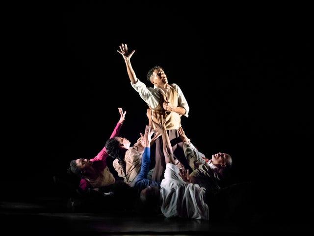 Havainnot amerikkalaisesta Alvin Ailey -teatterista tanssivasta ei-tanssijasta