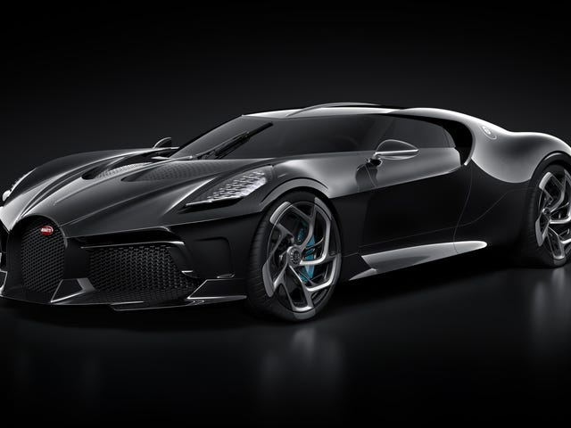 The $12.5 Million Bugatti La Voiture Noire Won't Actually Be Done for at Least Another Two Years