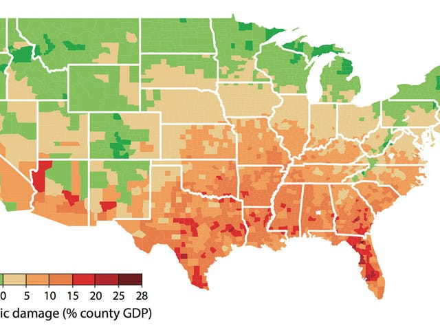 This Is How Each Region of the US Will Respond to Climate Change