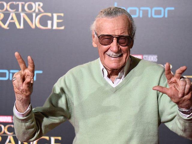 Stan Lee's Captain Marvel cameo raises a lot of questions