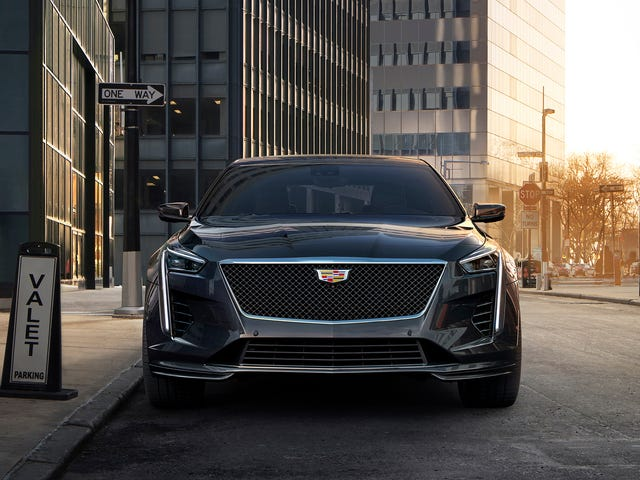 Cadillac's 'Second Installment' CT6-Vs Are $4,000 More Expensive