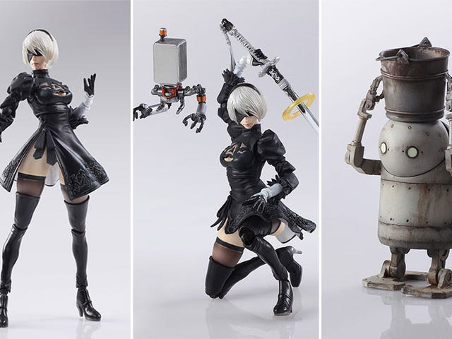 Look At These Nier Action Figures