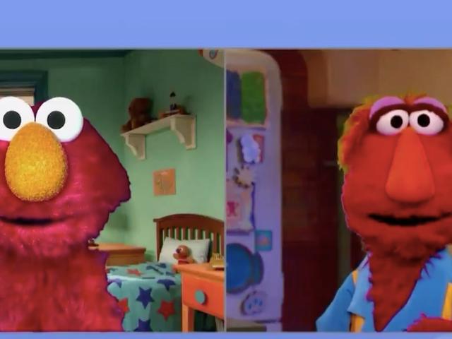 Read this: Is Sesame Street hiding Elmo's true parentage?