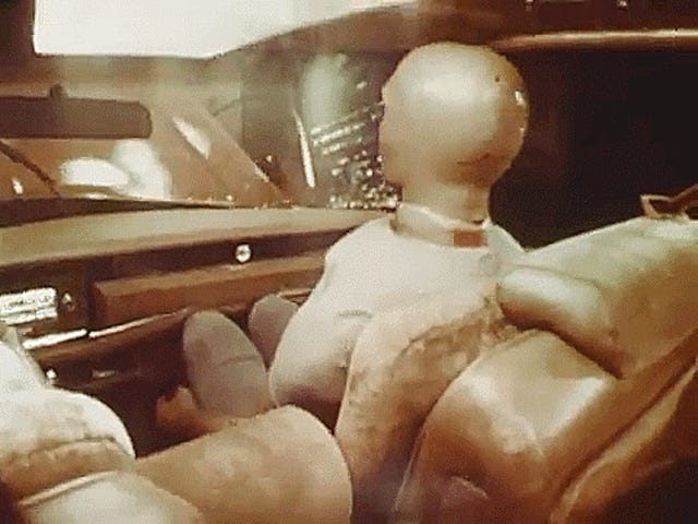 This Classic Crash Film Could Convince Anyone To Wear Seat Belts