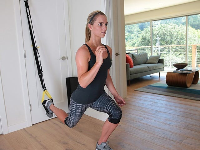 Stay In Shape On the Road With TRX's Travel-Friendly Suspension Trainer