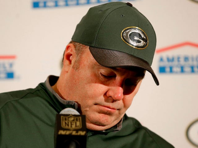Rapport: Mike McCarthy Fed Up Med Packers Management nægter at underskrive gratis agenter