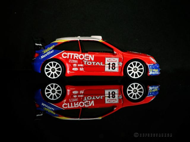 French Friday - Majorette Citroën Xsara WRC