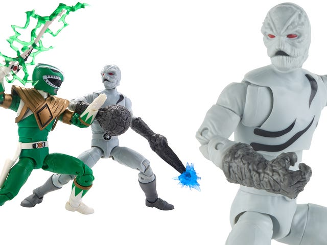 At San Diego Comic-Con this week, Hasbro revealed possibly the best action figure of Mighty Morphin