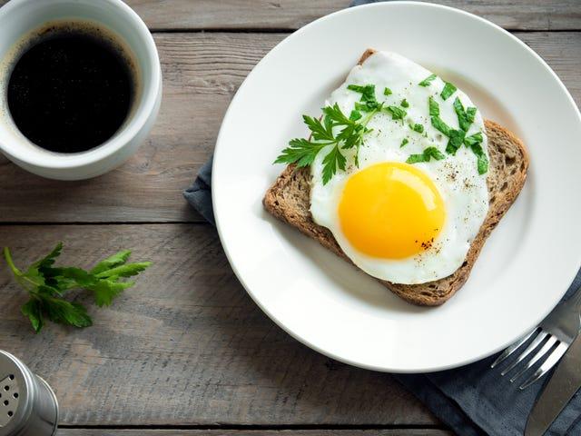 Buat Sunny-Side Up atau Telur Rebus dalam Microwave