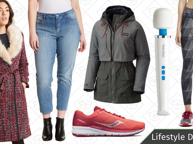 Friday's Best Lifestyle Deals: ModCloth, Magic Wand, Saucony, Columbia, and More
