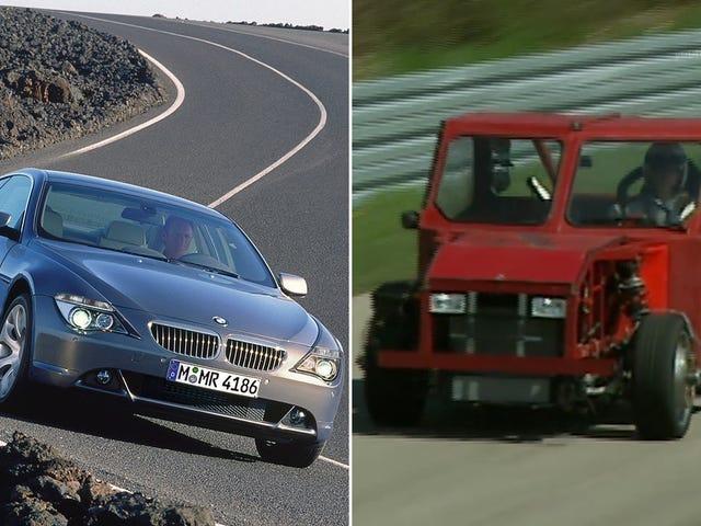 Deze ontwikkelingsmuiker uit de BMW 6-serie zag er veel vreemder uit dan je ooit zou verwachten