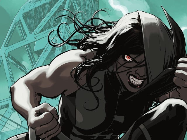 Delve into Laura's murderous past in this All-New Wolverine #32 exclusive