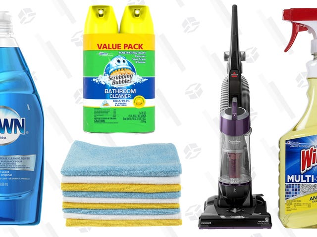 The Only Five Cleaning Products You Need In Life
