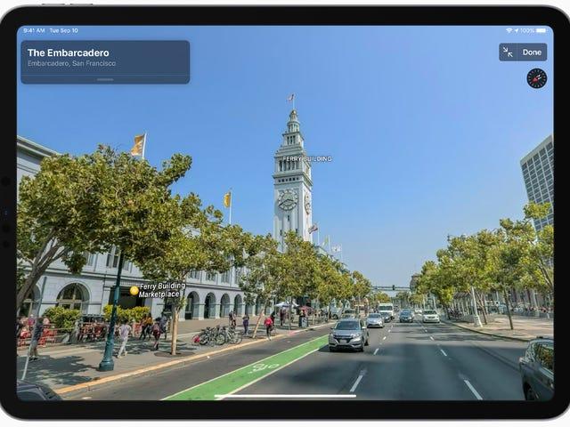 在Apple Maps重新设计中尝试的最佳新功能