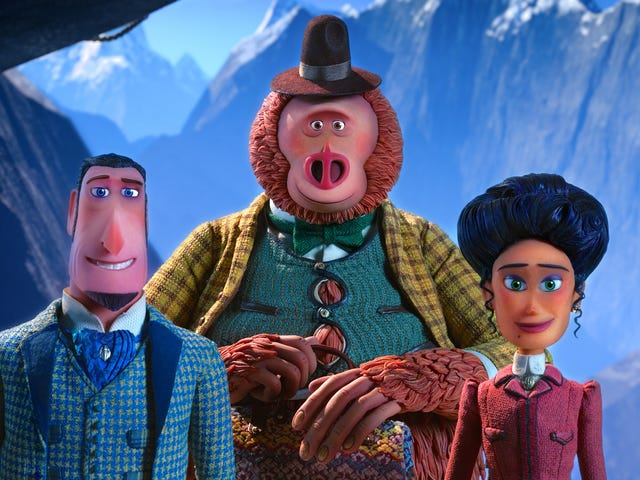 Laika thinks bigger and smaller with the charming stop-animation adventure Missing Link