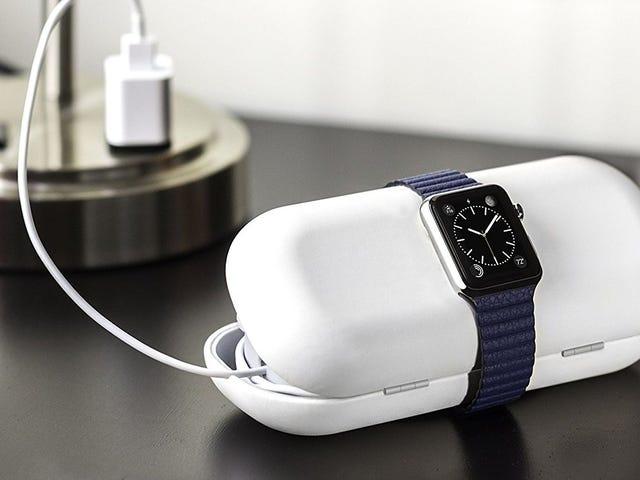 用十二个South TimePorter管理道路上尴尬的苹果手表充电电缆