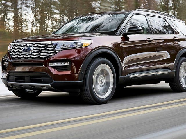 You Can Get 'Self-Sealing' Tires Standard on Some 2020 Ford Explorers
