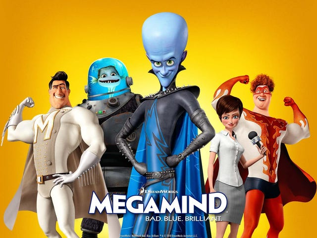 Megamind Review - buried by Minions