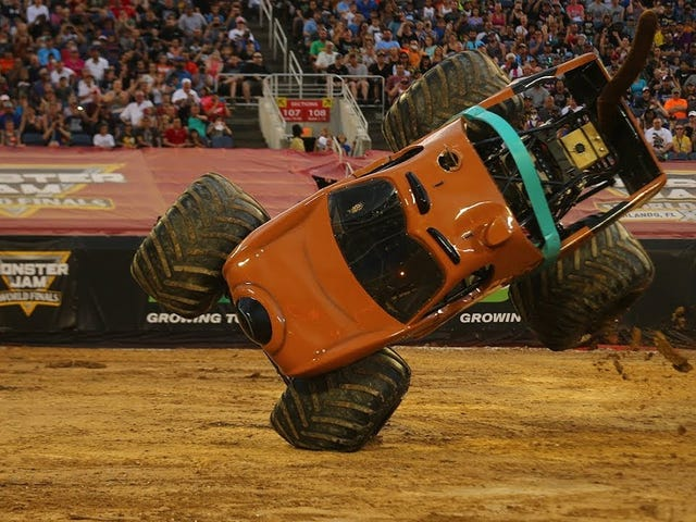My Friend Won A Thing: Monster Jam World Finals Edition
