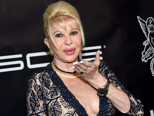 Ivana Trump Will Kick off Campaign to End Obesity in America With an Event at the Plaza