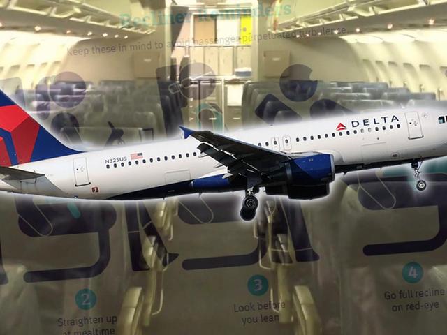 Delta đang hạn chế ngồi trên máy bay ngả để quái vật của bạn sẽ ngừng chiến đấu